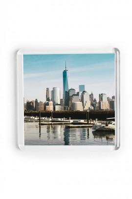 12. Akrylová magnetka na ledničku - (6,5 x 6,5 cm)