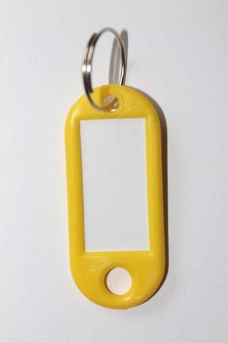 28. Klíčenka s přívěskem - žlutá