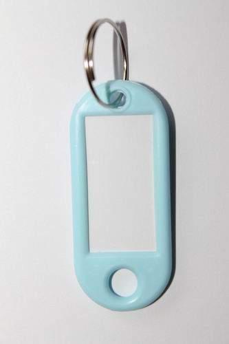 30. Klíčenka s přívěskem - světle modrá