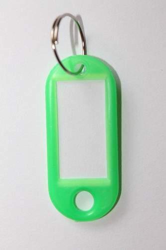 31. Klíčenka s přívěskem - zelená