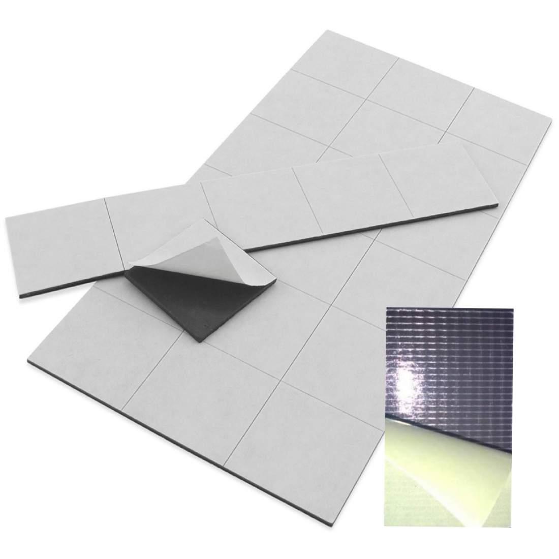 42. Samolepící magnetická fólie (řezaná) - 50x30 mm