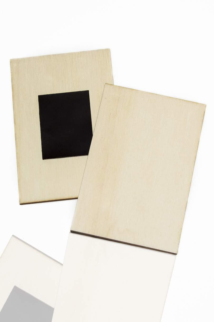 102.1 Dřevěná magnetka na ledničku - základní materiál 60x45mm