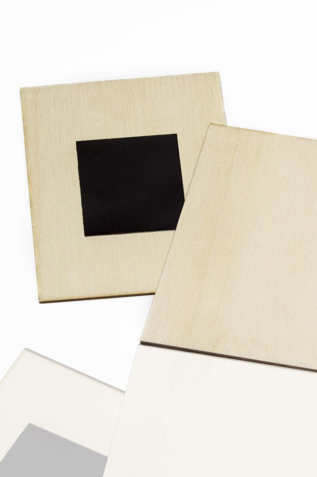 102.2 Dřevěná magnetka na ledničku - základní materiál 57x57mm