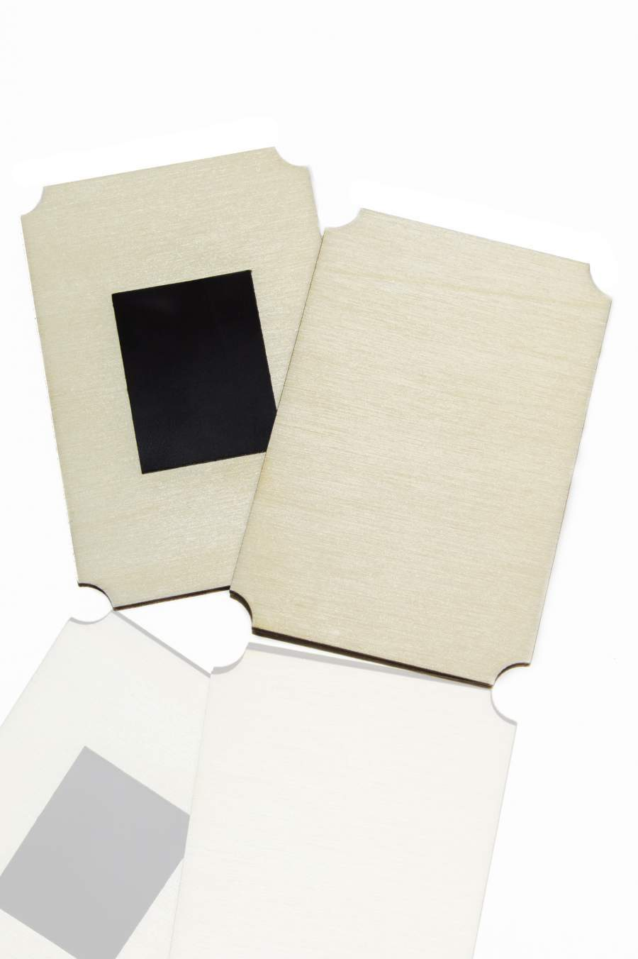 106. Dřevěná magnetka na ledničku - základní materiál 90x60mm