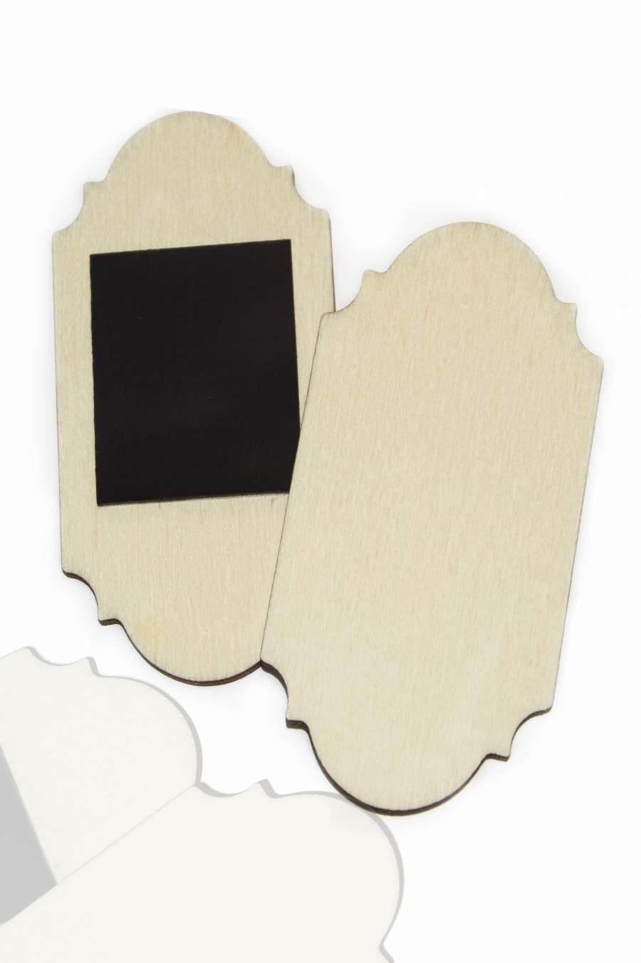 107. Dřevěná magnetka na ledničku - základní materiál 90x42mm